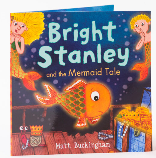 Bright Stanley open book