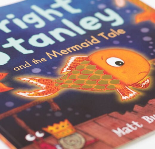 Bright Stanley and the Mermaid Tale close-up