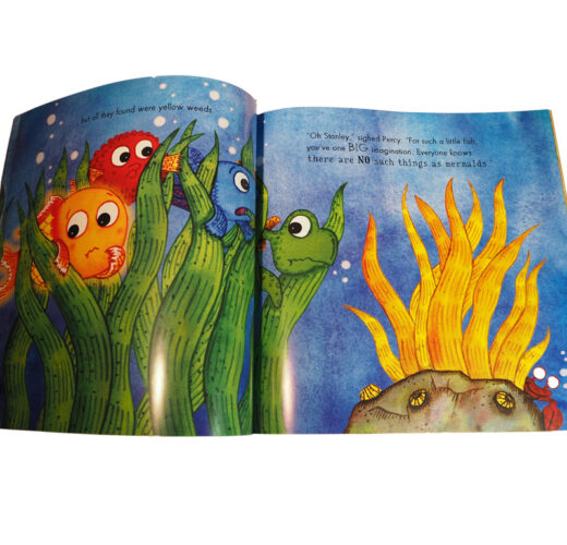 Bright Stanley and the Mermaid Tale spread 2