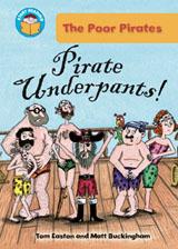 Pirate book Pirate Underpants by Matt Buckingham