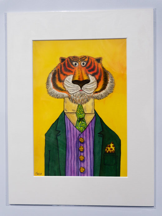 Children's Tiger Artwork