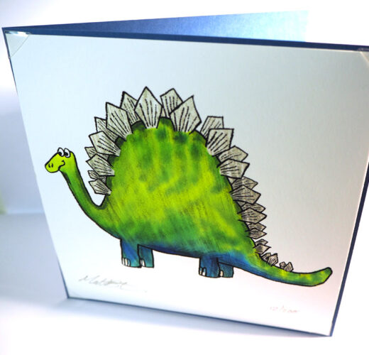 Unusual Dinosaur Card