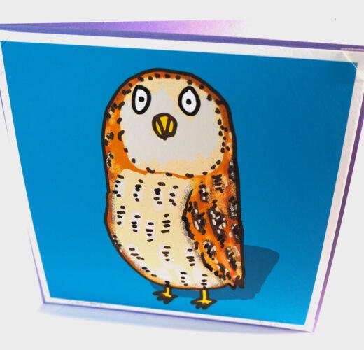 Unique Owl Card