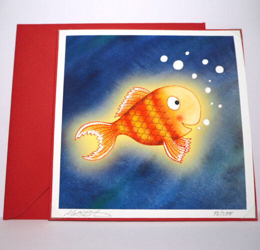 Bright Stanley Fish Card