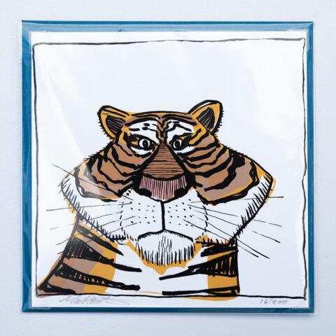 Tiger card by matt buckingham