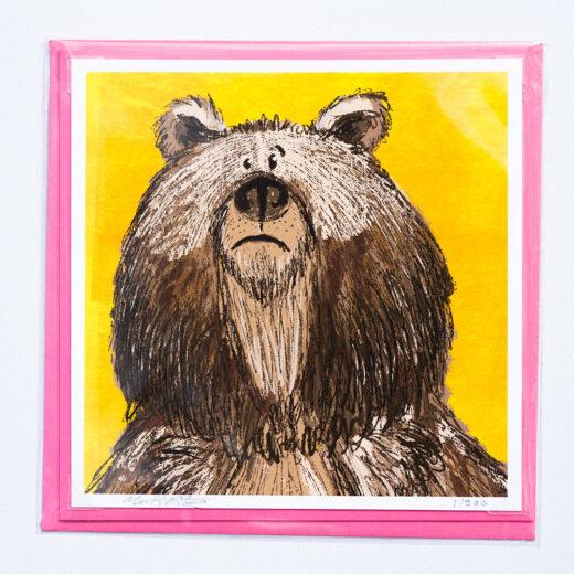 Bear card by Matt Buckingham