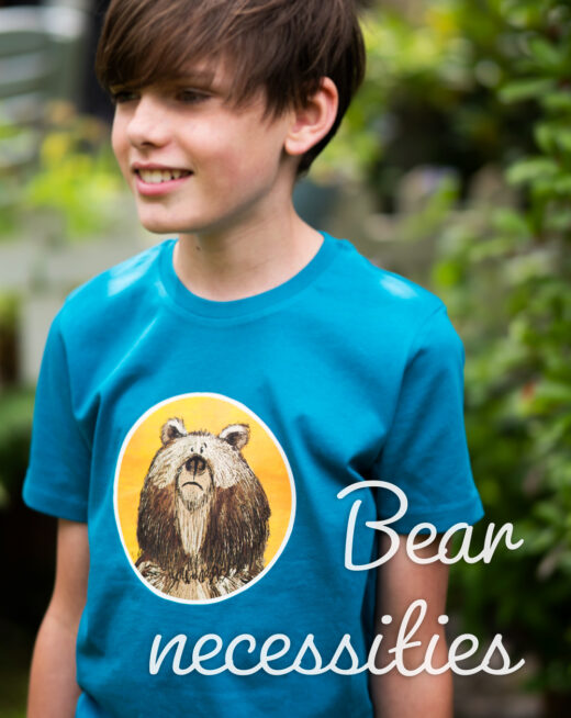 Children's Organic T-shirt - Bear