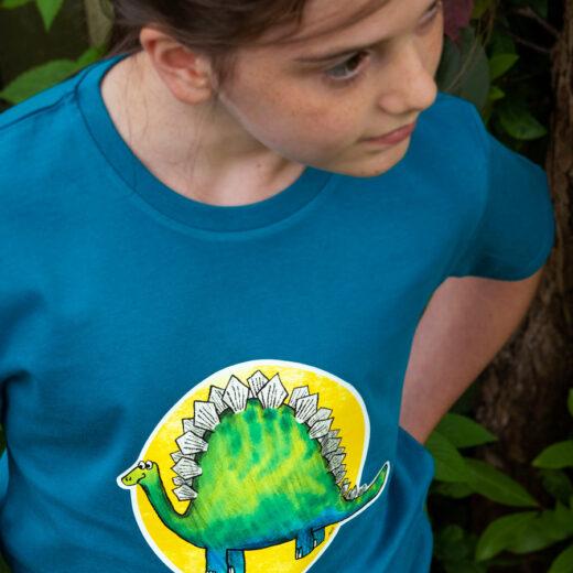 Dinosaur t-shirt - Organic