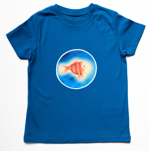 Kids Fish T-shirt Bright Stanley