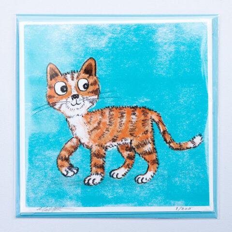Kitten card by Matt Buckingham