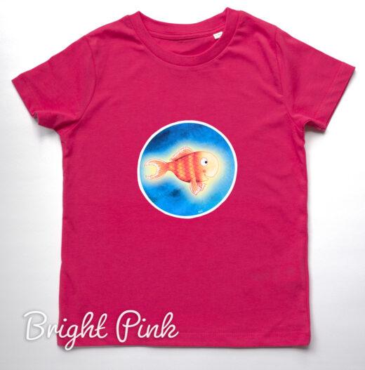 Organic T-shirt Bright Stanley - Pink