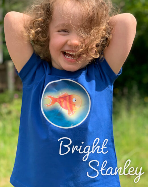 Children's Organic Fish t-shirt