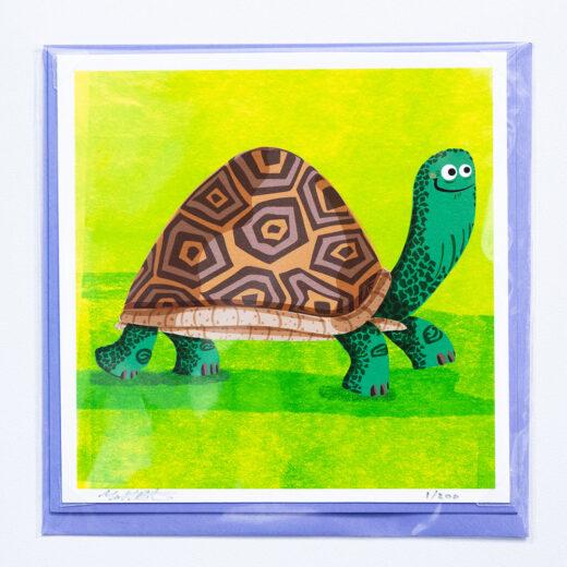 Tortoise card by Matt Buckingham