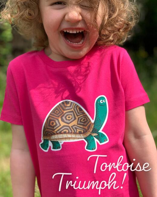 Kids Organic T-shirts - Tortoise