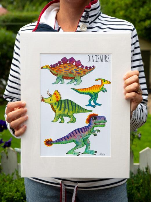 dinosaurs-print-by-matt-buckingham
