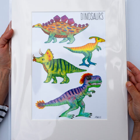 dinosaurs-print-by-matt-buckingham