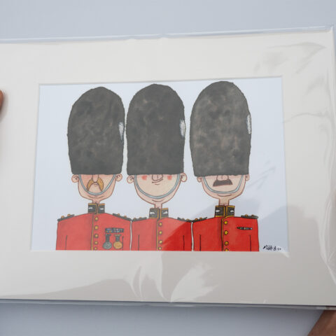 Grenadier Guards art print by matt buckingham