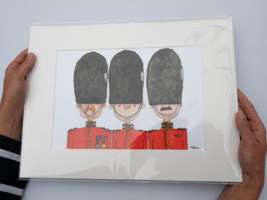 Grenadier Guards art print by matt buckingham