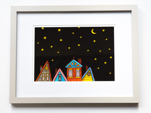 Starry night limited edition print matt buckingham