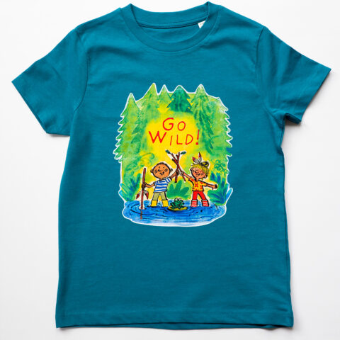 go wild organic t shirt by Matt Buckingham
