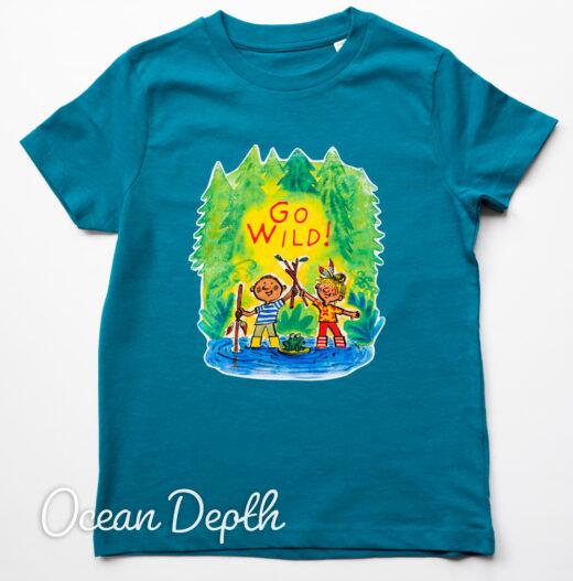 go wild organic t shirt by Matt Buckingham