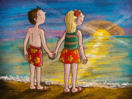 lovers-on-the-beach-limited-edition-print-by-matt-buckingham