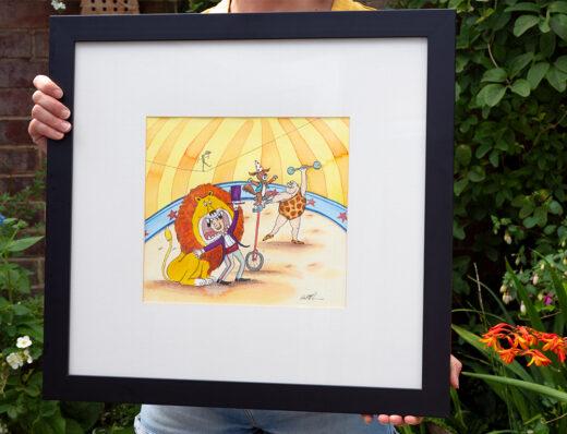 My Dog Dreams original artwork for sale by Matt Buckingham