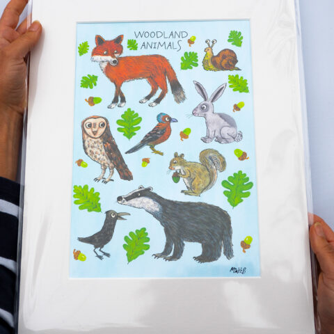 woodland-animals-print-by-matt-buckingham