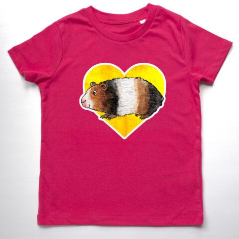 Guinea pig organic t-shirt
