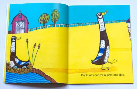Duck! Farmyard Fun Children's Book