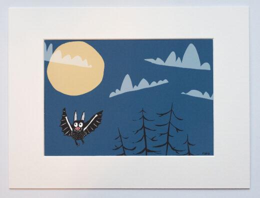 Echo artist Print by Matt Buckingham