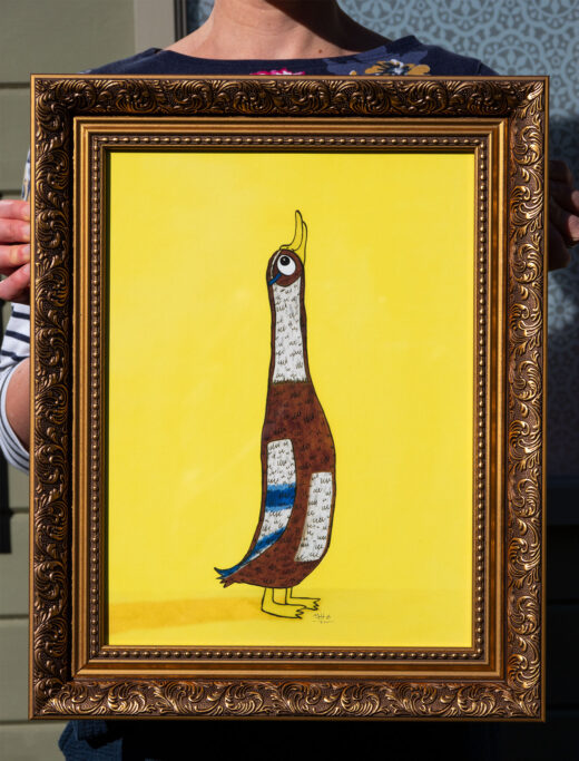duck print by matt buckingham