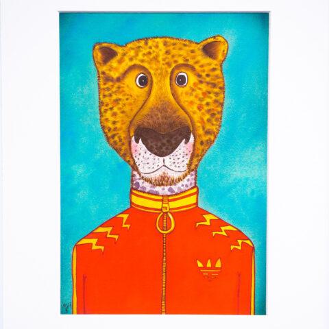 Leopard Artist Print by Matt Buckingham