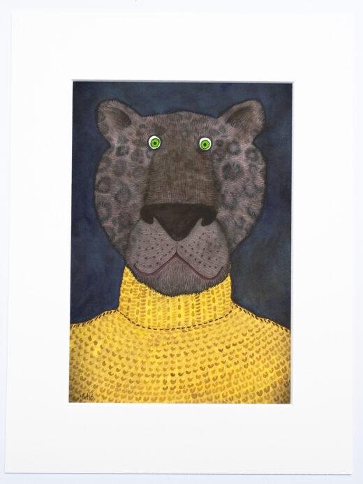 panther print by Matt Buckingham