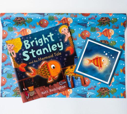 bright Stanley book gift set