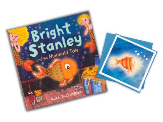 bright Stanley book and card gift set by Matt Buckingham