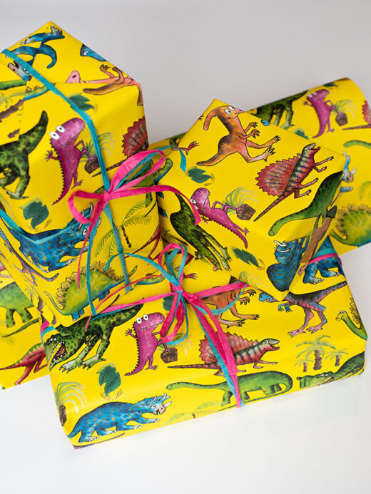 Dinosaur Unique Children's Gift Wrap