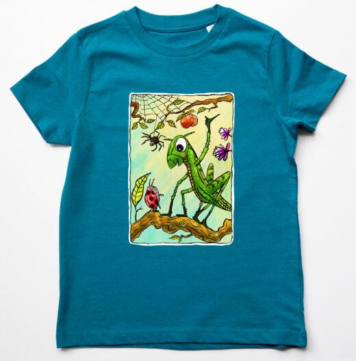 grasshopper t-shirt by Matt Buckingham